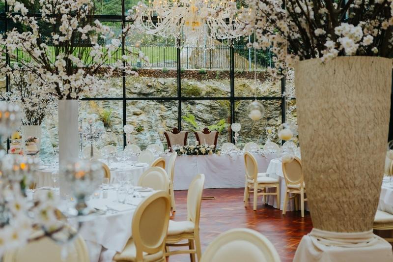 wedding set up rockhill house estate letterkenny